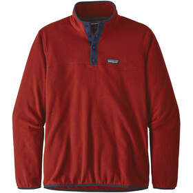 Patagonia Micro D Snap-T Pullover Herr Molten Lava
